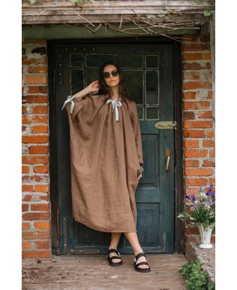 Bohemiška lino suknelė